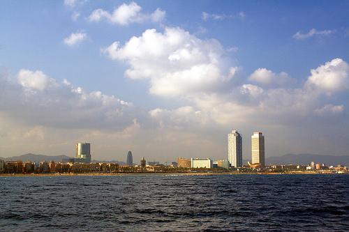 Barcellona skyline